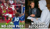 Memes, Amazing, and 🤖: rales  30  NO-L00K  NO-LO0K PASS AUTOGRAPH Mesut Ozil is amazing 😂😂👏