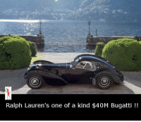 Ralph Lauren: Ralph Lauren's one of a kind $40M Bugatti
