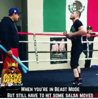 When You're In deep training but that salsa comes on 🤷🏼♂️🤣🙌🏻 @canelo canelo caneloggg caneloalvarez Golovkin @oscardelahoya @goldenboyboxing teamcanelo teamggg: RAM  WHEN YOU'RE IN BEAST MODE  BUT STILL HAVE TO HIT SOME SALSA MOVES When You're In deep training but that salsa comes on 🤷🏼♂️🤣🙌🏻 @canelo canelo caneloggg caneloalvarez Golovkin @oscardelahoya @goldenboyboxing teamcanelo teamggg