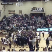 """Memes, 🤖, and Court: Ramapo College Repost @sportscenter: """"Half-court buzzer beater for the championship! Thomas Bonacum buries the SCtop10 shot to give Ramapo College the NJAC title."""" 👀👏 WSHH"""