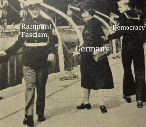 Hitlers rise to power (1920): Rampant  Fascism  emocracy  Germany Hitlers rise to power (1920)