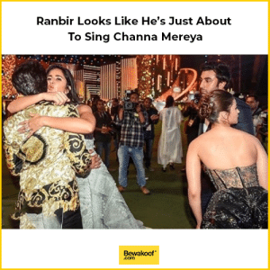 Memes, 🤖, and Song: Ranbir Looks Like He's Just About  To Sing Channa Mereya  Bewakoof  .com If the song Channa Mereya had a face.