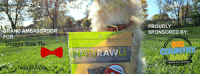 RAND AMBASSADOR  FOR  Doggie Bow Tie  NAURAVV  PROUDLY  SPONSORED BY: NatuRAWls Doggie Bow Tie Big Country Raw