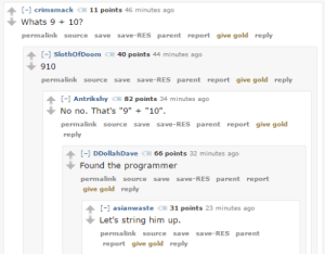 Random programmer humor in comments are always a joy: Random programmer humor in comments are always a joy
