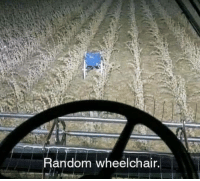 random: Random wheelchair.