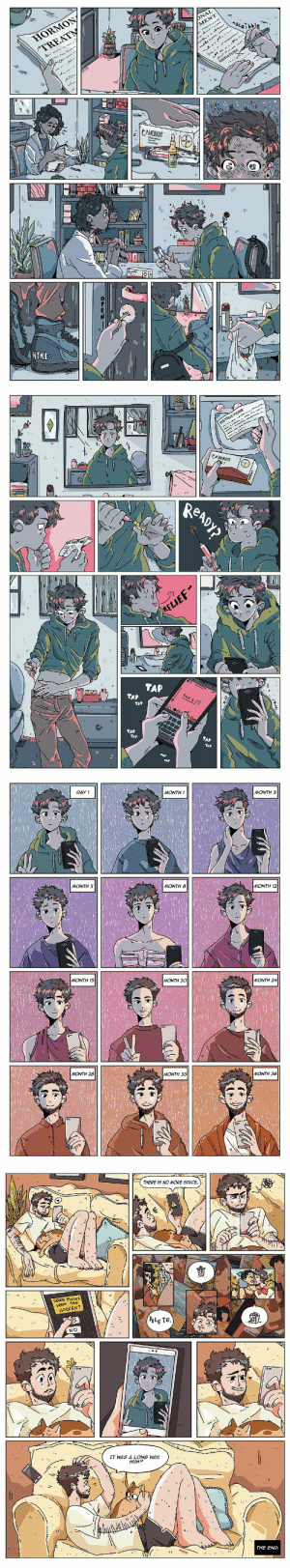 randomslasher: deusexmachinass:  assigned-at-birth-comic: supporting other lovely trans comic artists❤  Hi I know I reblogged this like two weeks ago but I'm gonna reblog it again  I love the way the color and light comes into his world as things progress. Just a really beautiful artistic touch.  : randomslasher: deusexmachinass:  assigned-at-birth-comic: supporting other lovely trans comic artists❤  Hi I know I reblogged this like two weeks ago but I'm gonna reblog it again  I love the way the color and light comes into his world as things progress. Just a really beautiful artistic touch.