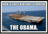carrier: RAN'S FIRST AIRCRAFT CARRIER  THE OBAMA.