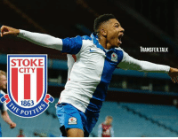 Stoke have completed the signing of teenage winger Tre Pemberton from Blackburn Rovers. - The 18-year-old has been added to Stoke's U23 squad.: RANSFER.TALK  STOKE  CITY  1863  OTTERS  POTT Stoke have completed the signing of teenage winger Tre Pemberton from Blackburn Rovers. - The 18-year-old has been added to Stoke's U23 squad.