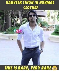 Very RARE picture!: RANVEER SINGH IN NORMAL  CLOTHES  RVCJ  WWW. RVC COM  THIS IS RARE, VERY RARE@@ Very RARE picture!