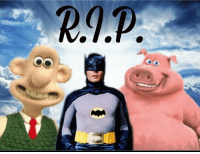 (oc... I guess) Rip to these real talented people. I used to watch Wallace and Grommet allot when I was younger so I was quite shocked to hear that Wallace voice actor had died, seeing as I hadn't thought about the show in years. While back at the barnyard had quite terrible animation quality I still watched all of the TV show when I was younger and found it really funny, especially pig. Finally Adam West was an amazing actor. He managed to even make the lame 1960s batsuit appear badass. I almost got to see him at fan-expo quite recently so I was very surprised when I heard that he died ~Cap . . . memes vaporwave funny shitpost cancer donaldtrump idubbbz hillaryclinton notmyrodrick filthyfrank doggo lazytown pinkguy cringe tf2 edgy keemstar overwatch triggered 😂: RAP (oc... I guess) Rip to these real talented people. I used to watch Wallace and Grommet allot when I was younger so I was quite shocked to hear that Wallace voice actor had died, seeing as I hadn't thought about the show in years. While back at the barnyard had quite terrible animation quality I still watched all of the TV show when I was younger and found it really funny, especially pig. Finally Adam West was an amazing actor. He managed to even make the lame 1960s batsuit appear badass. I almost got to see him at fan-expo quite recently so I was very surprised when I heard that he died ~Cap . . . memes vaporwave funny shitpost cancer donaldtrump idubbbz hillaryclinton notmyrodrick filthyfrank doggo lazytown pinkguy cringe tf2 edgy keemstar overwatch triggered 😂
