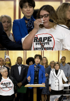 this-is-life-actually:  California ends the statue of limitations for rape cases On Wednesday, California Gov. Jerry Brown signed SB813, a bill that eliminates the statute of limitations on prosecuting felony sex crimes, into law. Dubbed the Justice for Victims Act, SB813 goes into effect on Jan. 1, 2017 and applies to all future sex crimes as well as past crimes still in the statute of limitations. The law was inspired by a massive celebrity rape case. follow @this-is-life-actually : RAPE  STATUTE  OF  IMITATIONS  IMITA   RAPE  STATUTE  OF  LIMITATIONS this-is-life-actually:  California ends the statue of limitations for rape cases On Wednesday, California Gov. Jerry Brown signed SB813, a bill that eliminates the statute of limitations on prosecuting felony sex crimes, into law. Dubbed the Justice for Victims Act, SB813 goes into effect on Jan. 1, 2017 and applies to all future sex crimes as well as past crimes still in the statute of limitations. The law was inspired by a massive celebrity rape case. follow @this-is-life-actually