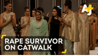 Mukhtar was gang raped and paraded naked in her village 14 years ago. Now she's on the catwalk, standing for women's rights.: RAPE SURVIVOR  ON CATWALK Mukhtar was gang raped and paraded naked in her village 14 years ago. Now she's on the catwalk, standing for women's rights.