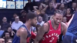 Memes, Paul George, and 🤖: RAPTO  2 Who remembers this Kawhi face when Paul George attempted to defend Kawhi 🤣🤣 https://t.co/P4FgeNP7iJ
