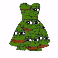 Rare Pepe dress for sale. Good for any occasion.: Rare Pepe dress for sale. Good for any occasion.