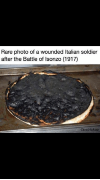 of loving fan ^^: Rare photo of a wounded Italian soldier  after the Battle of Isonzo (1917)  Opatrickap of loving fan ^^