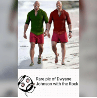 Memes, The Rock, and 🤖: Rare pic of Dwyane  Johnson with the Rock