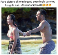 John Legend Stoopid thicc: Rare picture of john legend seemingly carrying  his girls ass...#FriendshipGoals  lg:@webclips John Legend Stoopid thicc