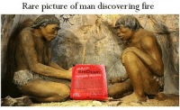 "Fire, Meme, and Http: Rare picture of man discovering fire  SzeChuan  m. <p>I&rsquo;m new here, need an approximation for my meme via /r/MemeEconomy <a href=""http://ift.tt/2p2lLQI"">http://ift.tt/2p2lLQI</a></p>"