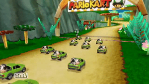 Community, Mario Kart, and Tumblr: RARIO KAKT  AmV paulthebukkit:  Mario Kart Wii has probably the best modding community of any game