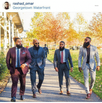 This pic is by far the most popular pic I've been in. I've seen so many memes of this pic along with topics and discussions about bearded men in suits. Thanks again to @onenigerianguy: rashad omar  Georgetown Waterfront This pic is by far the most popular pic I've been in. I've seen so many memes of this pic along with topics and discussions about bearded men in suits. Thanks again to @onenigerianguy