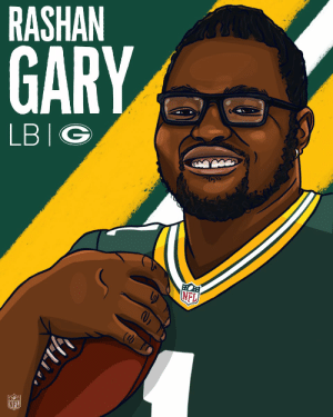 Memes, Nfl, and Packers: RASHAN  GARY  LBIG  NFL From Ann Arbor to Green Bay.  @RashanAGary is the newest member of the @packers! #NFLDraft https://t.co/BrzVAFn8wM