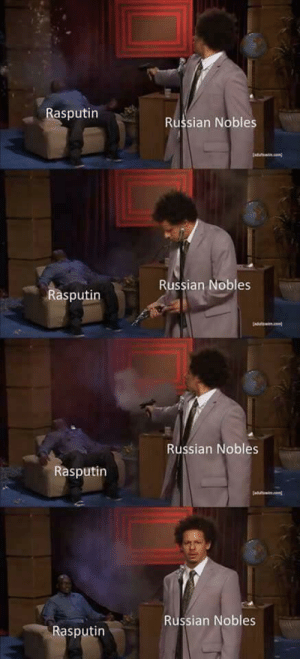 Why won't you die? | Who Killed Hannibal? | Know Your Meme: Rasputin  Russian Nobles  Russian Nobles  Rasputin  Russian Nobles  Rasputin  Russian Nobles  Rasputin Why won't you die? | Who Killed Hannibal? | Know Your Meme