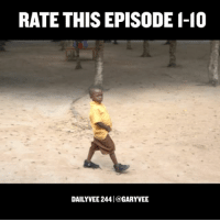 """Life, Memes, and Ghana: RATE THIS EPISODE I-10  DAILY VEE 244l a GARYVEE Rate this episode from 1-10 🙌🏻 Link in bio - New DailyVee (vlog) episode from Ghana .. """"What makes a good life"""""""