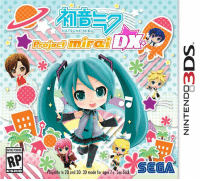Cuter than ever, Miku and friends are back! Hatsune Miku: Project Mirai DX launches on May 26 for the Nintendo 3DS: http://bit.ly/1ykU0CT: RATING PENDING  RP  ESRB  HATS UNE MIKU  ayable in 20 and 3D. 3D mode for ages 7+. See back Cuter than ever, Miku and friends are back! Hatsune Miku: Project Mirai DX launches on May 26 for the Nintendo 3DS: http://bit.ly/1ykU0CT