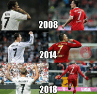Some things are meant to last forever https://t.co/EATmRkbM6u: RAUL  2008  RIPERY  RONALDO  2014  IBERY  MARIANO  2018 Some things are meant to last forever https://t.co/EATmRkbM6u