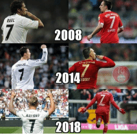 Some things are meant to last forever 👌❤⚽️ Ribery Bayern: RAUL  2008  RIPERY  RONALDO  2014  IBERY  RIBERY  MARIANO  2018  LIGA Some things are meant to last forever 👌❤⚽️ Ribery Bayern