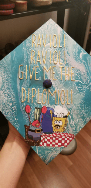 College, Meth, and Cap: RAV40  BAV IOEL  METH My college graduation cap (: