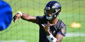 Memes, Ford, and Raven: RAVEN  Ford He's 6-1 as a starter.  Is @Lj_era8 ready to take the @Ravens to the next level? https://t.co/r8BkrJXyo4 (via @adamrank) https://t.co/LVjwKqgt5V