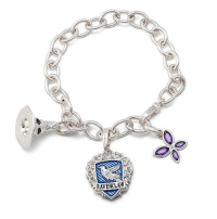 Harry Potter, Tumblr, and Blog: RAVENCLAW novelty-gift-ideas:  Harry Potter Lumos Ravenclaw Charm Bracelet