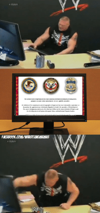 Liking this effectively is an admission of your internet piracy ;): RAW  幽  FMOBOOK.COM/WRESTLINGMEINES  RAW Liking this effectively is an admission of your internet piracy ;)