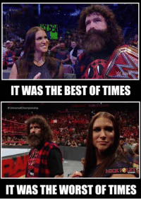 """WHERE DO WE GO?  So where does the McMahon/Foley partnership go from here? To quote Axl Rose, """"where do we go...where do go..where do we goooooo?"""" Stephanie McMahon - WWE claimed to know nothing about Paul """"Triple H"""" Levesque actions last week. I'm going to take her at her word. Is that a wise move?   What might the future hold for new #WWE #Universal champion Kevin Owens? Man, I was upset about that ESPN guy making Kevin's son part of an ill-conceived, poorly received joke last week. I was worried that the uproar might ruin that incredible moment for Kevin, but was told that seeing the support from his colleagues in the wake of the uproar only made the victory more meaningful for him. Pretty awesome, right?:  #RAW  HLR  IT WAS THE BEST OFTIMES  IT WAS THE WORST OF TIMES WHERE DO WE GO?  So where does the McMahon/Foley partnership go from here? To quote Axl Rose, """"where do we go...where do go..where do we goooooo?"""" Stephanie McMahon - WWE claimed to know nothing about Paul """"Triple H"""" Levesque actions last week. I'm going to take her at her word. Is that a wise move?   What might the future hold for new #WWE #Universal champion Kevin Owens? Man, I was upset about that ESPN guy making Kevin's son part of an ill-conceived, poorly received joke last week. I was worried that the uproar might ruin that incredible moment for Kevin, but was told that seeing the support from his colleagues in the wake of the uproar only made the victory more meaningful for him. Pretty awesome, right?"""