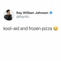 Before the Your Favorite Martian album was cancelled, he showed interest in jumping on a YFM song. He also once hooked me and my brother up w VIP tickets to his show at Troubadour. He was a cool dude. Always cordial. RIP Mac Miller.: Ray William Johnson <  @RayWJ  kool-aid and frozen pizza Before the Your Favorite Martian album was cancelled, he showed interest in jumping on a YFM song. He also once hooked me and my brother up w VIP tickets to his show at Troubadour. He was a cool dude. Always cordial. RIP Mac Miller.