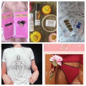Anaconda, Ass, and Bad: RBL GRL TRBL  evenls Apothear  All E  ts Apot  Apothecaripowen  andalwoodal  Aphrodite  Love & Pleasure  u & vose.C  ngredient: Mullein.  rose &  Rose  damiana  Balm  &ecocoa butis  emon balm.  www.GRLTRBL.Com  @GRL TRBL on Instagram  www.GRLTRBL.com  2te  full coverage 22ndandeverett: Instagram Giveaway!!!   Instagram Giveaway!!!     Instagram Giveaway!!!     Girl Power Giveaway! This giveaway comes with over $100 worth of product!! -Virgin Abbi or Ilana shirt fell @22ndandeverett -Chapstick, loose smoke blend, and roll on from @allelementsapothecary -20 % credit towards a pair of @cutefruitundies -A mix of Tea from @cryssieaddis -2 bad ass pins from @grltrbl ———————————————————————————————————-  How To Win - Do one or ALL of the following! -follow each account  like this photo for 1 entry! -tag a friend OR fill out THIS FORM for 2 additional entries  -Repost pic with caption for 2 additional entries! We will be randomly selecting a winner on June 20th! So stay tuned!