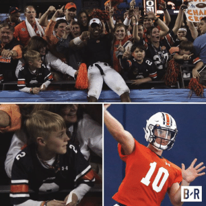 Last time Auburn played Oregon, at the 2011 BCS National Championship Game, Bo Nix was a 10-year-old fan  Now he's a true freshman QB starting for the Tigers tonight 👏: RCHA  CR  BCS  A  CAM  LE!  10  BR  LD  OF Last time Auburn played Oregon, at the 2011 BCS National Championship Game, Bo Nix was a 10-year-old fan  Now he's a true freshman QB starting for the Tigers tonight 👏