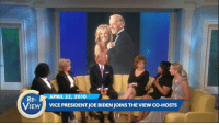 """""""As soon as I saw her, I knew she was the one."""" Vice President Joe Biden shares his love story with wife Dr. Jill Biden on The View in 2010. The couple, married now for almost 40 years, join the co-hosts tomorrow. #TBT: RE  RIL 22  010  VIEW  VICEPRESIDENTJOEBIDENJOINS THE VIEW CO-HOSTS """"As soon as I saw her, I knew she was the one."""" Vice President Joe Biden shares his love story with wife Dr. Jill Biden on The View in 2010. The couple, married now for almost 40 years, join the co-hosts tomorrow. #TBT"""