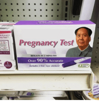 "pregnant: re to e.p.t.s  cy Test.""  Pregnancy Test  PREGNANT  OT PREGNANT  ASY TO READ  RESULTS IN 2 MINUTES  Over 90% Accurate  Includes 2 free mao stickers!  ay  TEST  mone"