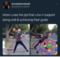 "<p>Support those you love :) via /r/wholesomememes <a href=""http://ift.tt/2C1FzhE"">http://ift.tt/2C1FzhE</a></p>: @readyfourdeath  @readyfourdeath  when u see the ppl that u luv n support  doing well & achieving their goals <p>Support those you love :) via /r/wholesomememes <a href=""http://ift.tt/2C1FzhE"">http://ift.tt/2C1FzhE</a></p>"