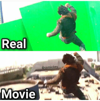 Memes, Omg, and Wow: Real  @comicbey  MOVIe Wow !! Omg so close for 27K follow me only 2 more follow @lossantosmedia.ig Dm