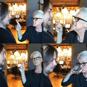 Real footage of Jamie Lee Curtis deciding to play Peach in Mario Party.... That's right!! Here's our GUEST GRUMPS WITH JAMIE LEE CURTIS! https://youtu.be/Q9KZFuXhfxw: Real footage of Jamie Lee Curtis deciding to play Peach in Mario Party.... That's right!! Here's our GUEST GRUMPS WITH JAMIE LEE CURTIS! https://youtu.be/Q9KZFuXhfxw