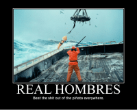 REAL HOMBRES  Beat the shit out of the pinata everywhere. Real Hombres