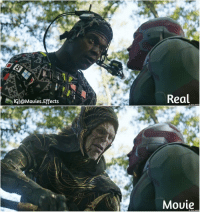 Memes, Movies, and Avengers: Real  IGl@Mouies.Effects  2018 MARV  Mouie Rate This Movie Out Of 10. Must follow 👉@Movies.Effects for more updates. Avengers Infinity War.After-Before Vfx avengersinfintywar infinitywar