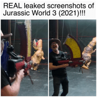 Jurassic World, World, and Screenshots: REAL leaked screenshots of  Jurassic World 3 (2021)!!!  EB