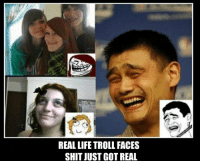 People Who gave us Troll Faces: REAL LIFE TROLL FACES  SHIT JUST GOT REAL People Who gave us Troll Faces