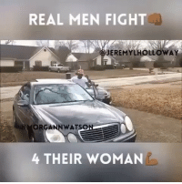 REAL MEN FIGHT  JEREMY LHOLLOWAY  WAT  ONE  4 THEIR WOMAN 😂😂😂😂😂 he never hesperedit Don't start a fight you can't finish😉😉 Tag a friend 😋😋 ➡️ Follow @KraksHQ | @KraksRadio | @KraksTV (Credit: @jeremylholloway)