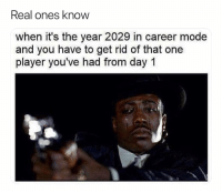 Soccer, Sports, and Pain: Real ones knoW  when it's the year 2029 in career mode  and you have to get rid of that one  player you've had from day 1 No pain compares