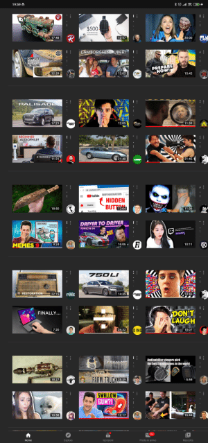 Really loving the new YouTube home page layout!: Really loving the new YouTube home page layout!